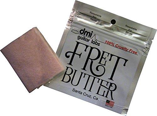 dmi guitar labs フレット磨き専用クロス Fret Butter フレットバター 【国内正規輸入品】 こんなにいるの!? フレット磨きの際にマスキングテープを貼る人・貼らない人のアンケート結果【ギター・ベース】