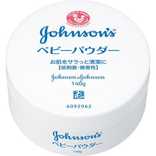 [ジョンソン・エンド・ジョンソン 2615837] (ケア商品)ジョンソンベビー ベビーパウダー プラスチック容器 140g