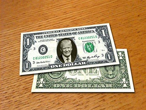 大統領ドナルド・トランプDonald Trump本物米国公認1ドル札紙幣1 [並行輸入品]