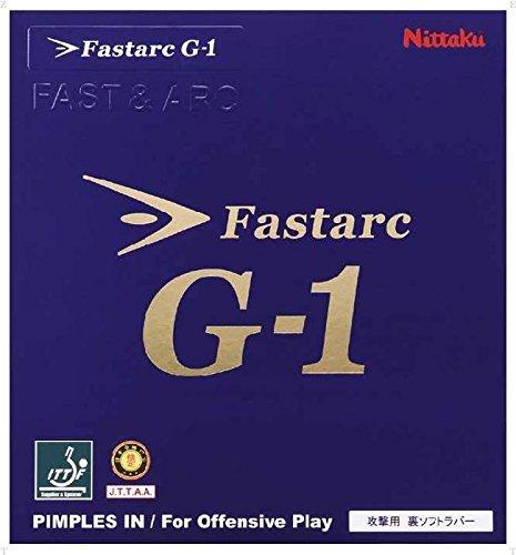 ニッタク ガット・ラバー 卓球 ファスターク G 1 TA(特厚) ブラック (国内正規品)
