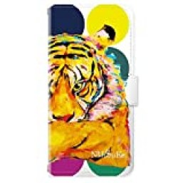iPhone 8 / 7 / 6 対応 手帳 手帳型ケース iPhoneケース イラスト 動物 アニマル NIJISUKE ニジスケ《カード収納 ストラップホール ミラー付き》