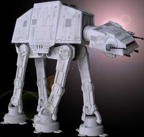 Star Wars: 1/100 AT-AT / スターウォーズ AT-AT