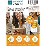 Transatel・ヨーロッパ各国プリペイドデータSIMカード Euro Plus・1GB・15日間 並行輸入品