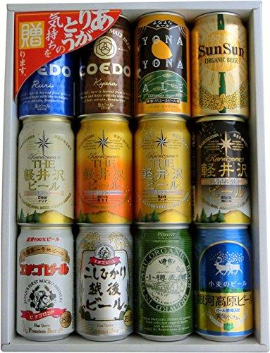クラフトビール飲み比べセットをお父さんにプレゼント