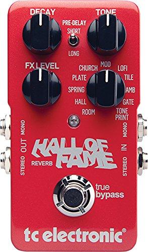 tc electronic Hall of Fame REVERB ギターエフェクター 一番売れた人気エフェクターランキング!オーバードライブ、ファズ歪み系、ディレイ、リバーブ、コーラス、コンプレッサーの人気ペダル一覧【2018年】