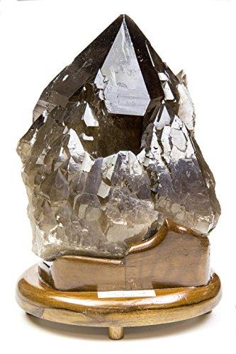 カンゴーム スモーキークオーツ カテドラル 天然水晶 とても希少な一品です。