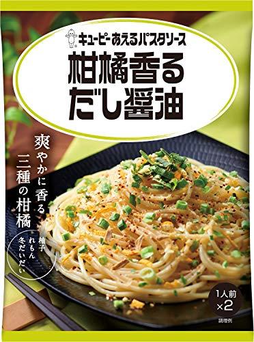 キユーピー あえるパスタソース 柑橘香るだし醤油 (26.7g×2)×6袋