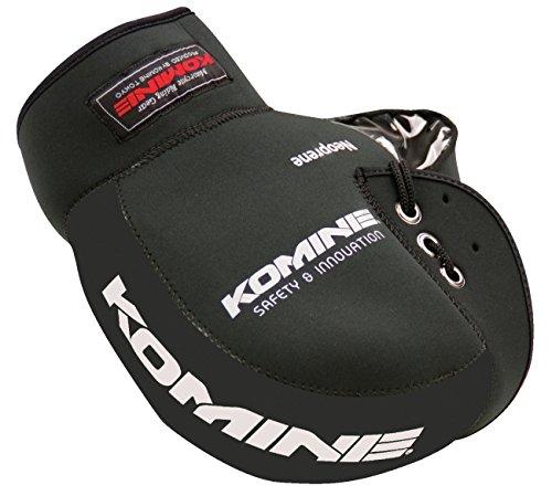 コミネ(Komine) バイク用ハンドルカバー ネオプレンハンドルウォーマー ブラック フリー 09-021 AK-021