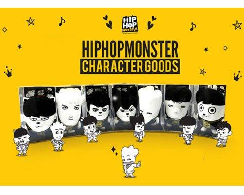 BTS HIPHOP MONSTER キャラクター ぬいぐるみ BTS -防弾少年団 グッズ バンタン bts 公式グッズ タイプ RAP MONSTER