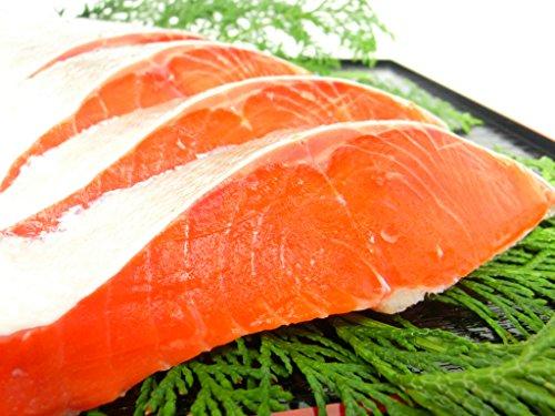 紅鮭 天然 塩紅フィーレ 1枚 約1kg サイズ 色鮮やかな紅鮭フィレ 業務用 大特価 人気