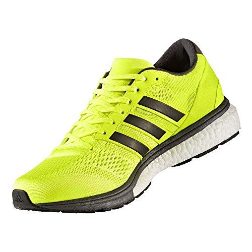 adidas(アディダス)メンズ ランニングシューズ アディゼロ ボストン ブースト 2 ジョギング マラソン BB3320 ソーラーイエロー 26.5