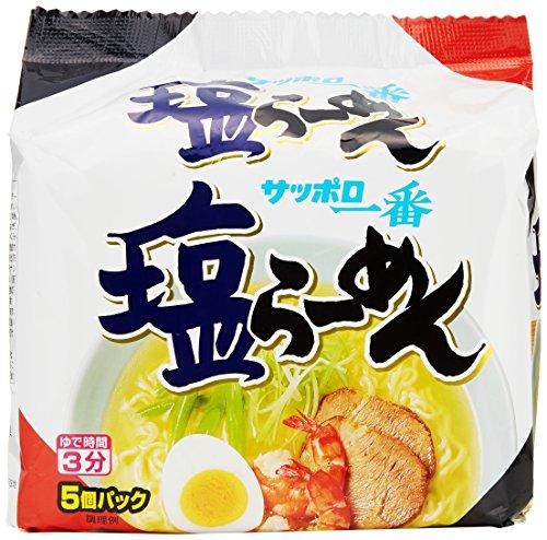 サッポロ一番 塩らーめん 5食×6個 -