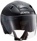 ヤマハ(YAMAHA) バイクヘルメット ジェット YJ-14 ZENITH サンバイザーモデル 90791-2280L メタルブラック L (頭囲 59cm~60cm)