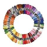 Hommy刺繍糸 100本 98色 セット クロスステッチ カラーが豊富できれい! 刺しゅう糸 (98色)