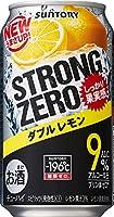 サントリー チューハイ-196℃ストロングゼロダブルレモン350ml×24缶