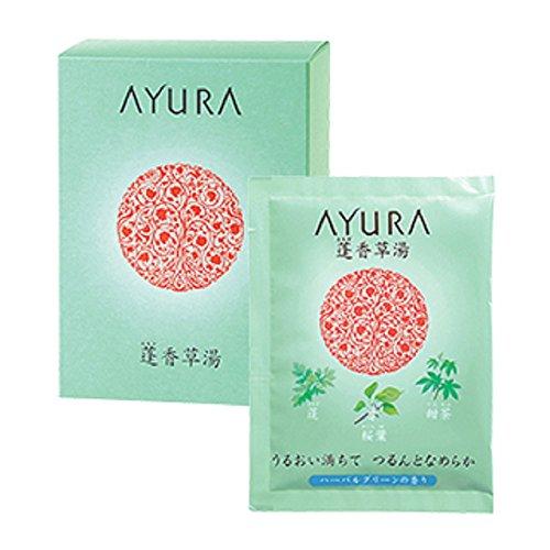 アユーラ (AYURA) 蓬香草湯 25g×10包 〈浴用 入浴剤〉 うるおい満ちて つるんとなめらか