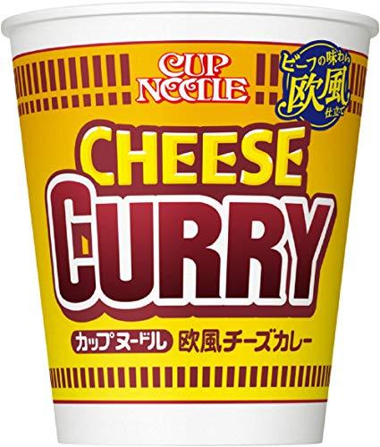 日清 カップヌードル 欧風チーズカレー 85g×20個