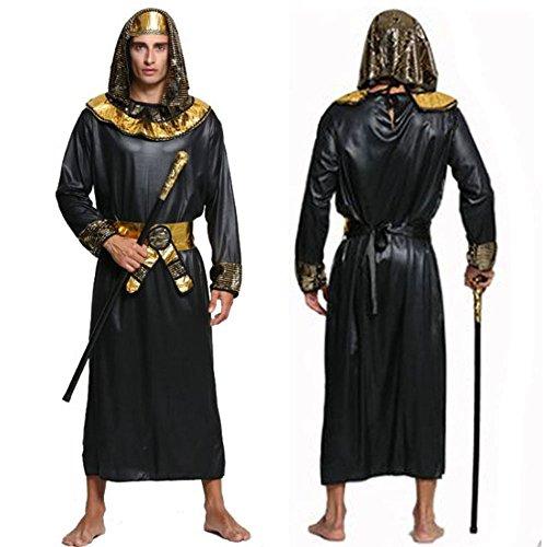 monoii ファラオ コスプレ エジプト 王様 ハロウィン コスチューム 古代エジプト 衣装 c015
