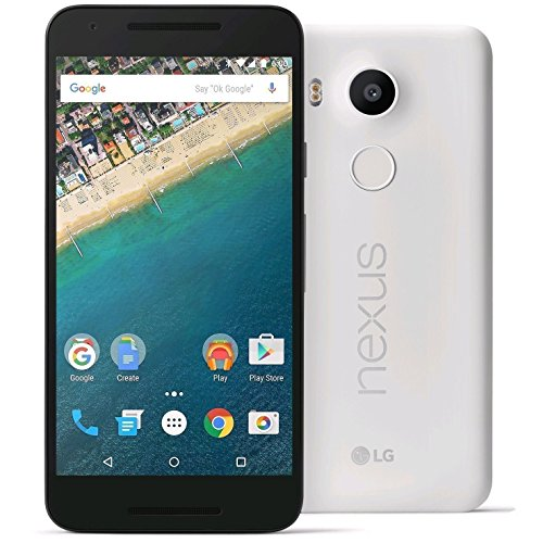 Google NEXUS 5X 32GB QUARTZWhite LG-H791 SIMフリー 正規品