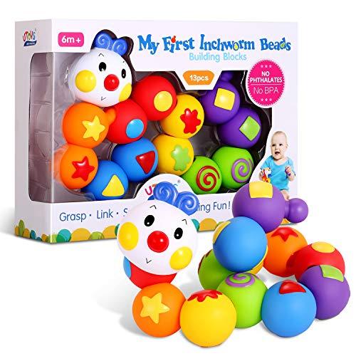 知育おもちゃの代表である積み木は出産祝いで人気のギフト