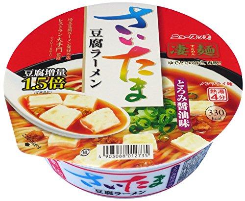 ニュータッチ 凄麺 さいたま豆腐ラーメン 105g×12個