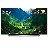 LG 55V型 有機EL テレビ OLED55C8PJA 4K ドルビービジョン対応 ドルビーアトモス対応 2018年モデル