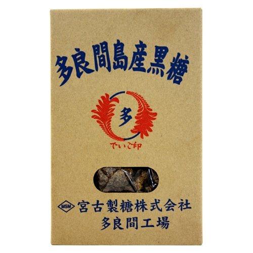 多良間島産黒糖 200g×4箱 黒糖本舗垣乃花 純黒糖 携帯に便利な一口タイプ お土産に便利な箱入り