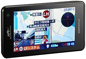 ユピテル レーダー探知機 小型オービスレーダー波受信対応 GPS一体型 リモコン操作 GWR301sd