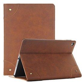 Galaxy Tab S2 9.7 カバー、elecfanJ スタンド フィット 保護カバー カード収納 スリム ケース ブックデザイン カバー