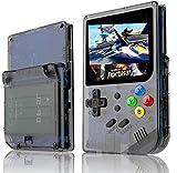 レトロゲームオープンソースRG 300アーケードスチュアートトニーシステムゲームコンソール小型ミニオープンソースハンドヘルド最高の贈り物(ブラック)