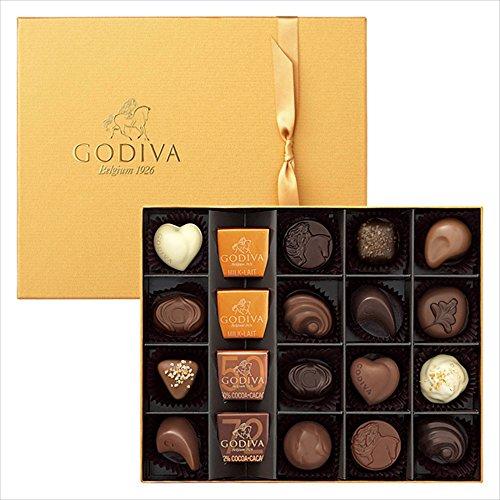 GODIVAを社会人の彼女にホワイトデーに贈る