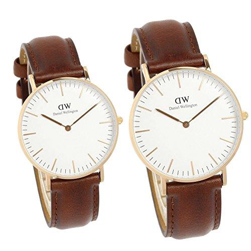 [ダニエルウェリントン]Daniel Wellington 腕時計 ペアウォッチ クラシック シンプル メンズ レディース [並行輸入品]