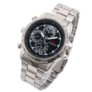 ハッピーマーケット(HAPPYMARKET) 高級腕時計型 デジタルビデオ&カメラ 【4GB内蔵】  高解像度1280×1024 (録画、防犯、証拠撮影) 日本語説明書付き