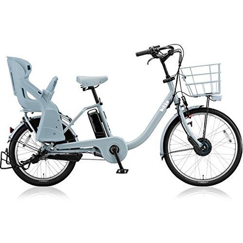 ブリヂストン(BRIDGESTONE) ビッケモブ(bikke MOB) dd BM0B48 E.XBKブルーグレー 子供乗せ自転車