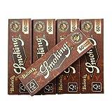smoking スモーキング、ブラウンシングルペーパー 60枚入りx5 シャグ 喫煙具 手巻き