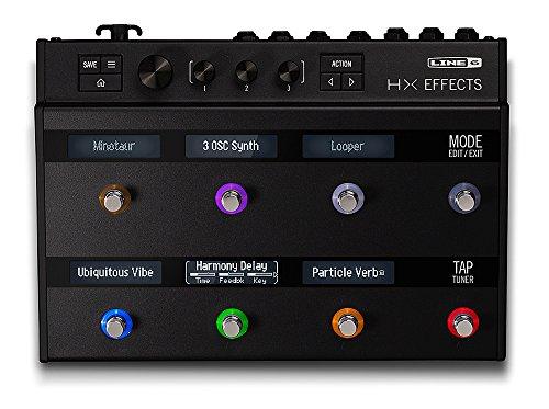 Line 6 マルチエフェクトプロセッサー HX Effects 【最新】Oz Noy(オズ・ノイ)の機材・エフェクターボード・アンプを解析!ギターを支える機材の数々を紹介!【金額一覧】