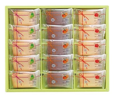 中山製菓 果実のクリームサンド 15個