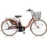 BRIDGESTONE(ブリヂストン) 18年モデル アシスタファイン カラー:E.Xフラミンゴオレンジ A6FC18-OR 26インチ 電動アシスト自転車 専用充電器付