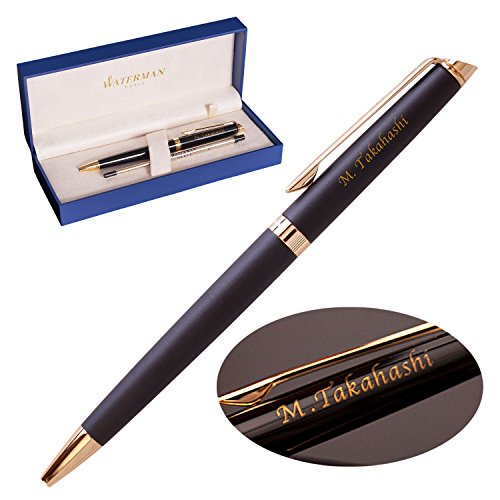 WATERMANの名前入りボールペンを旦那の誕生日にプレゼント