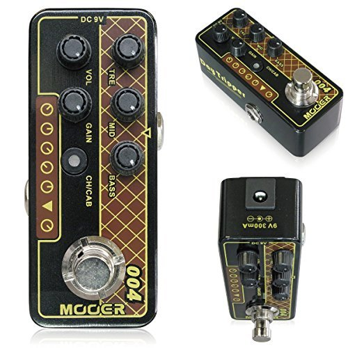 MOOER / MICRO PREAMP 004 ムーアー プリアンプ 【徹底解析】Mooer Micro Preamp  エフェクター のコピー元一覧! 元ネタはあの名アンプ!!【プリアンプ】