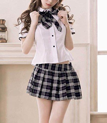 【Amaze Products】JKコスプレ 大人用 コスチューム 仮装 衣装 コスプレ 女子高校生 sexy 制服 ミニ スカート【オリジナル商品】