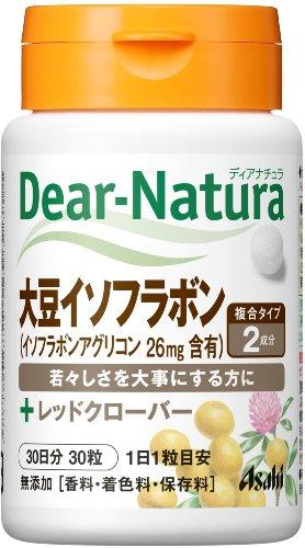 ディアナチュラ 大豆イソフラボン with レッドクローバー 30粒 (30日分)