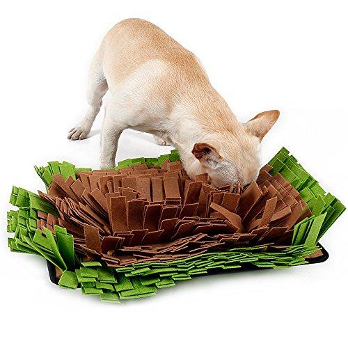 Petneces 犬 訓練毛布 鼻づまり 遊び 嗅覚訓練 ストレス解消 餌マット 分離不安 犬おもちゃ ペット用品