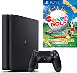 PlayStation 4 ジェット・ブラック 500GB (CUH-2100AB01) 【数量限定特典 New みんなのGOLF ダウンロード版付】