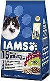アイムス (IAMS) シニア猫用(15歳以上) 健康な長生きのためにチキン 1.5kg(375g×4袋) [キャットフード・ドライ]