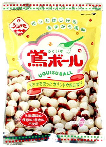 植垣米菓 鶯ボール 126g×12袋