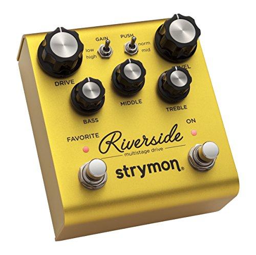 Strymon『Riverside』 マルチステージ・ドライブ・ペダル [国内正規品] 【徹底解説】strymon(ストライモン) エフェクター全製品一覧! 最高峰のペダルの感想・レビュー付き。【動画・スペック・価格】