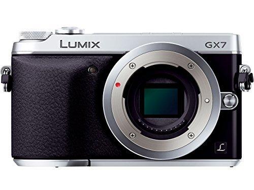 パナソニック LUMIX DMC-GX7-SS Wパワーズームレンズキット シルバー