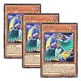 【 3枚セット 】遊戯王 日本語版 DP21-JP046 月光翠鳥 (レア)