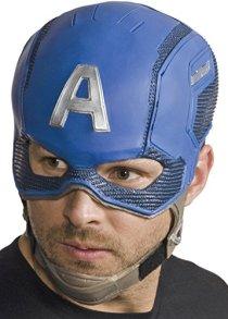 マーベル キャプテンアメリカ マスク コスチューム用小物 男女共用